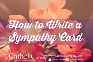 How to Write a ... Holy Sympathy Quotes
