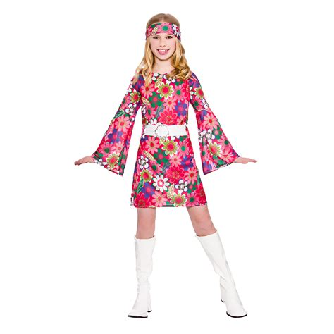 Girls Retro Go Go Girl Fancy Dress Up Party Costume Halloween Child 60s Outfit | eBay