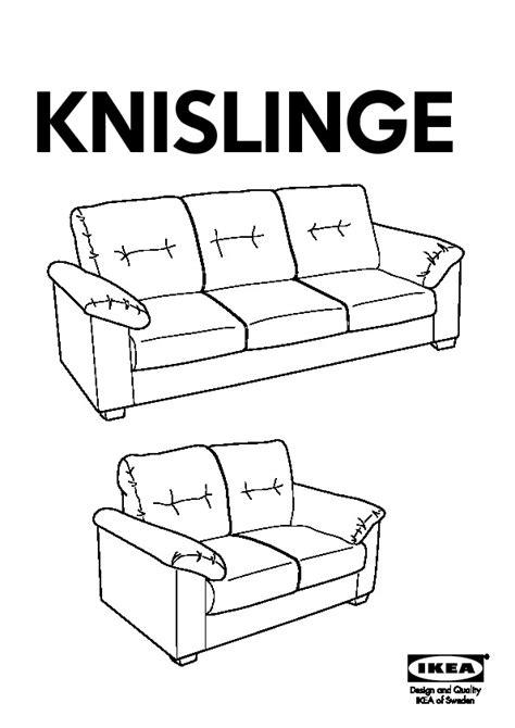 Ikea Knislinge Sofa Assembly by Knislinge Sofa Idhult Black Ikea United States Ikeapedia
