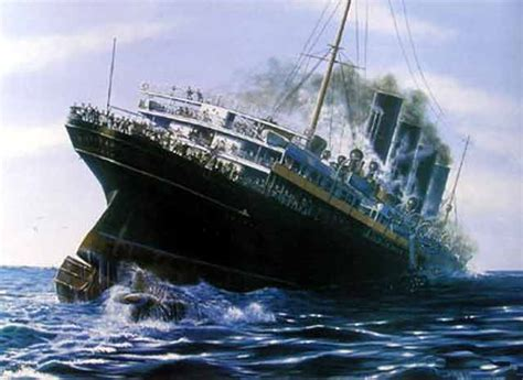 Where In Ireland Did The Lusitania Sink by The Lusitania After Being Torpedoed Of The Coast By