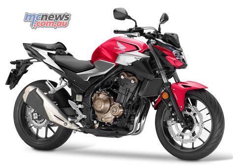 2019 honda cb500f updated style shock engine mcnews com au