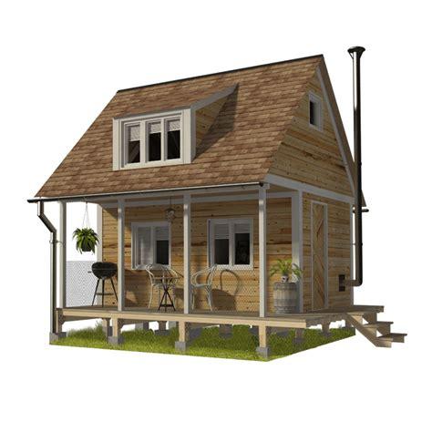 Cabin Plans with Loft Bedroom