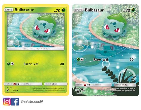 Venusaur is a combination of the words venus which refers to the venus flytrap plant, and the greek word saur, meaning lizard. Bulbasaur full art card done by me : pokemon