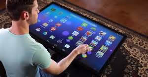 large screen android tablet coffee table sized android tablet business insider