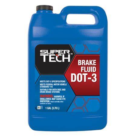 super tech dot  brake fluid  gallon walmartcom