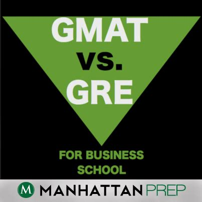 The Gmat Vs The Gre For Business School Gre