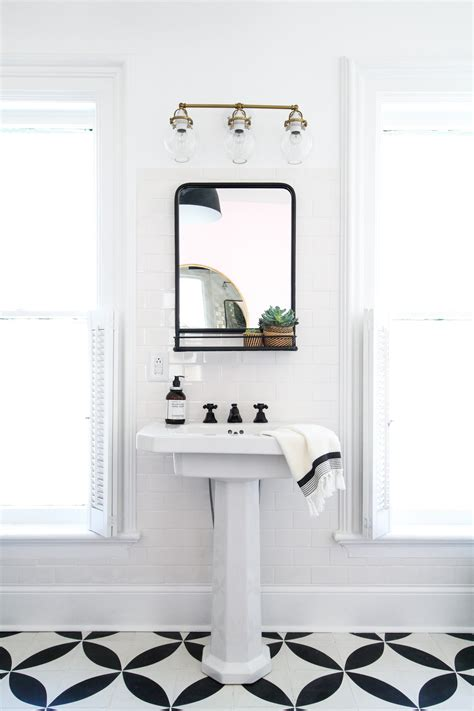 Hang Bathroom Mirror by How To Hang A Bathroom Mirror On Ceramic Tile Bath