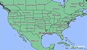 Where is Shreveport, LA? / Shreveport, Louisiana Map ...
