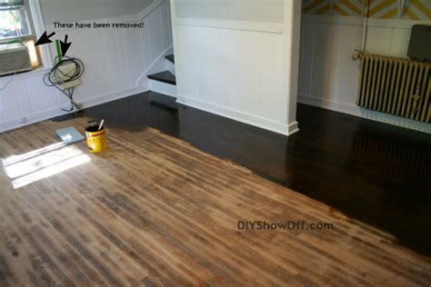 Restaining Hardwood Floors Diy by How To Stain And Seal Hardwood Floors Archives Diy Show