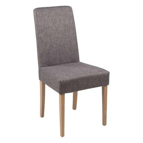 chaise salle a manger bois massif chaise de salle 224 manger en tissu et bois massif gaby mobitec 174 4 pieds tables chaises et