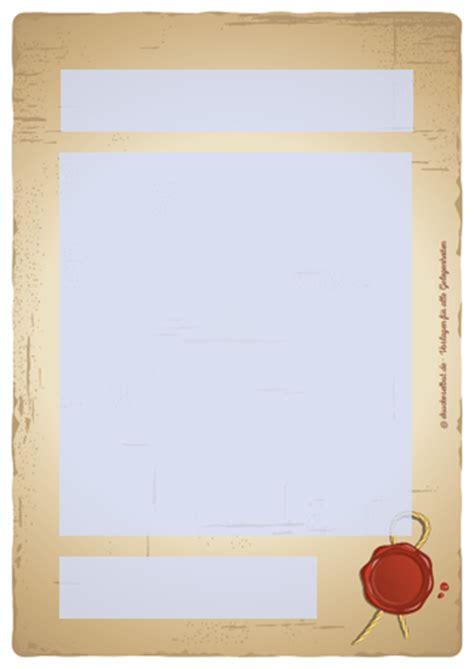 drucke selbst altes papier mit siegel vorlage