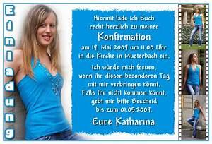 Konfirmation Einladungskarten Konfirmation