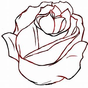 eletragesi: Easy Flower Drawing Outline Images