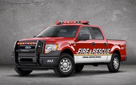 ford    firefighter edition ford trucks