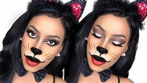 Pretty Kitty Halloween Makeup Tutorial
