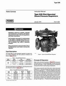 Fisher 92b Regulator Manual