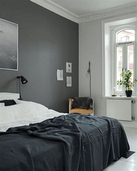 decoration mur chambre deco chambres look noir black and white decoration