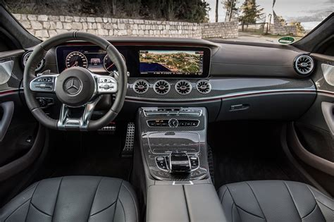 mercedes amg cls cabin  motortrend