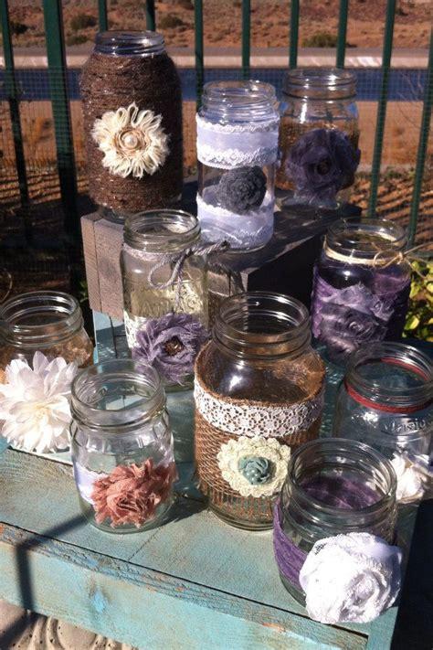 table lanterns in bulk rustic wedding decor 15 bulk burlap lace mason jars