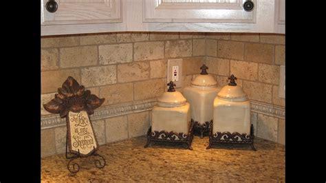 white tile kitchen backsplash tumbled travertine tile kitchen backsplash ideas