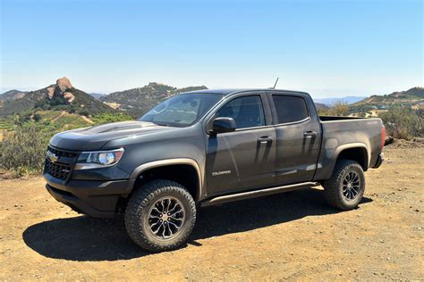 concept off road truck 2017 chevrolet colorado zr2 review off road daily
