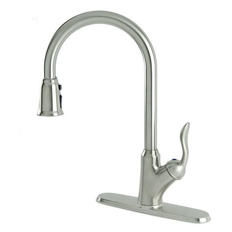 Fontaine Stainless Steel Pull Down Faucet, Pull Down