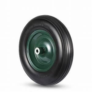 Roue De Brouette Avec Axe : maxcraft roue de brouette pu avec axe noir vert ~ Melissatoandfro.com Idées de Décoration