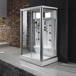 Cabine De Douche Rectangulaire : cabine de douche 2 personnes hydromassante cabine hammam ~ Melissatoandfro.com Idées de Décoration