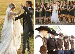 western theme wedding dresses country wedding ideas decoration