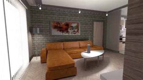 More 3d Home Walkthroughs by 3d Interior Walkthrough Apartment Blender
