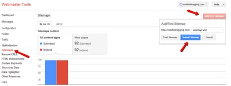 How Submit Xml Sitemap Google Webmaster Tools