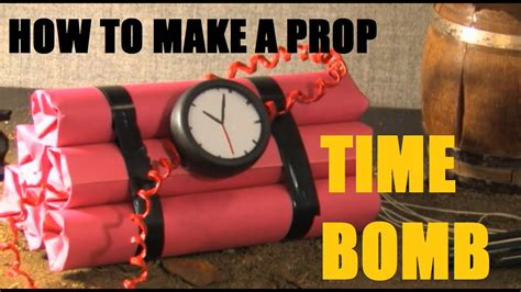 How To Make A Prop Timebomb Youtube
