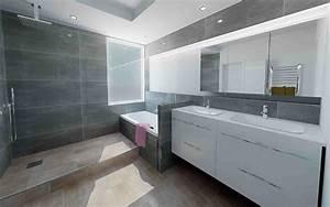 salle de bains les bains cuisines d39alexandre With les photos de salle de bain