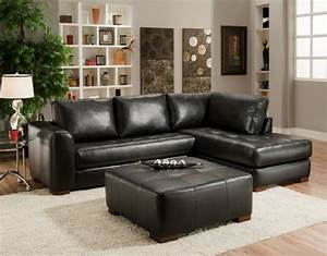Small sectional sofa with chaise perfect choice for a for Small sectional sofa with chaise and ottoman