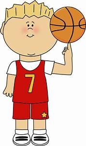 Basketball Player Balancing Ball on Finger Clip Art ...