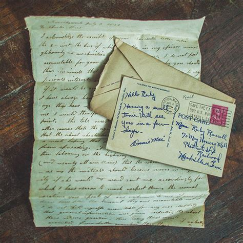 Lost Letter Writing by The Lost Of Writing A Letter