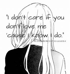 Anime Quotes About Love Black And White | www.pixshark.com ...