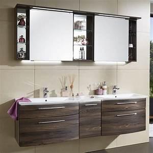 Badmöbel Set Ikea : puris linea badm bel set 170 cm mit spiegelschrank inkl regal und mineralguss ~ Markanthonyermac.com Haus und Dekorationen