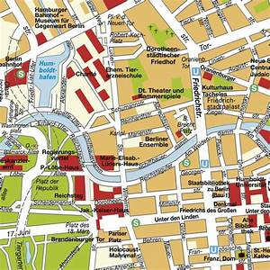 Centre De Berlin : plan de centre ville berlin allemagne rfa cartes plans et iteneraries hot maps ~ Medecine-chirurgie-esthetiques.com Avis de Voitures