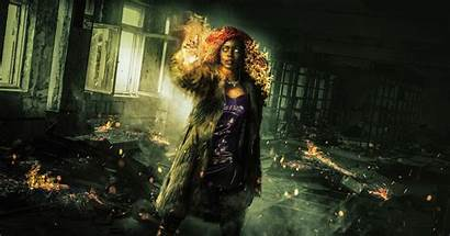 Titans 4k Starfire Wallpapers Tv Shows