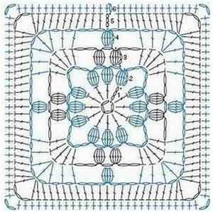 14 Granny Square Crochet Diagrams