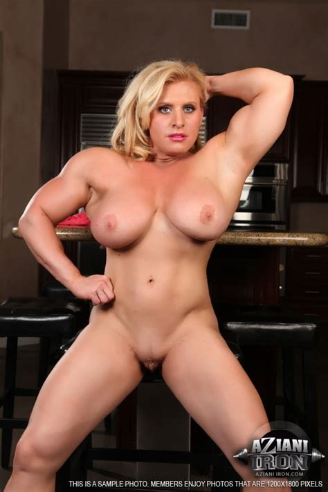 Female Body Builder Joanna Thomas Nude 24 Pics