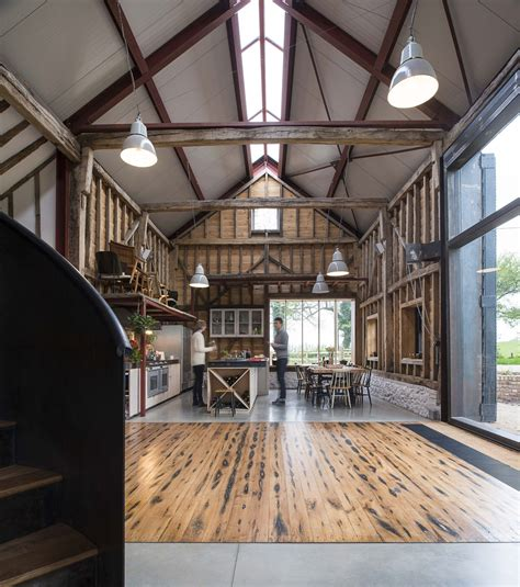 barn interior modern homes that used to be rustic old barns