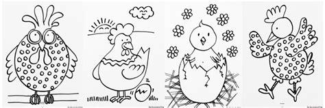 Kuikentjes Kleurplaat by Kippen Kleurplaten Kippen Kippetjes Kuikens Kleurplaat