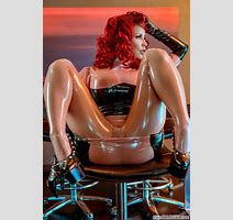 Bianca Beauchamp The Temp Latex Strip Big Tits Here