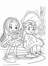 Hairdorables Beauty Coloring Pages Salon Doll раскраски категории из все Mystery sketch template