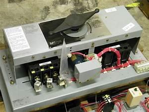 1284c15g02 Westinghouse Transfer Switch 225a 3p 480v 120v Control