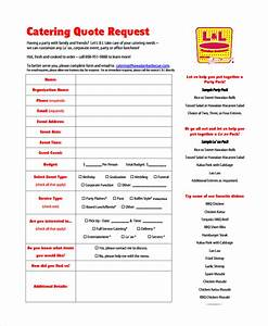 catering event form template pictures to pin on pinterest With catering email template