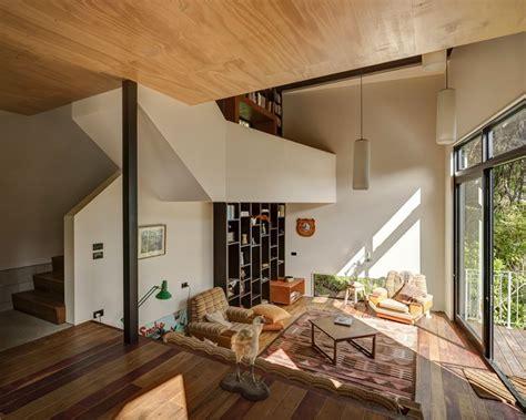 split level home interior beautiful blackpool house blends split level design with