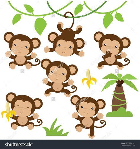 monkey vector buscar con manualidades monkey
